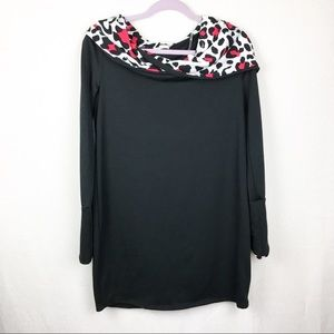 12PM By Mon Ami |Women's Leopard Hoodie Pullover
